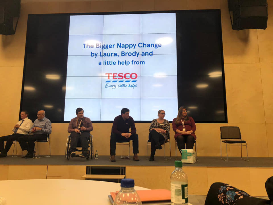 Bigger Nappy Campaign Success: Introducing Tesco Junior Nappies