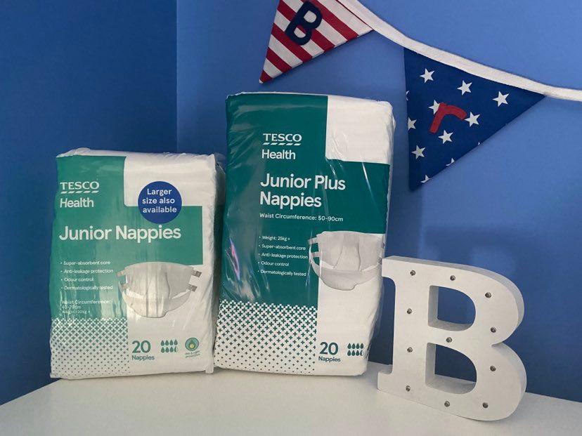 Bigger Nappy Campaign Update: Tesco Health Junior Nappies Plus
